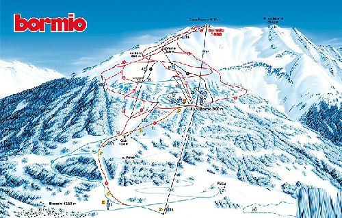 """Карта горнолыжного курорта """""""