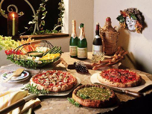 Итальянская кухня разнооброазна и очень вкусна