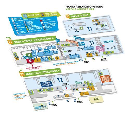 План аэропорта Вероны