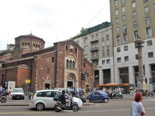Данная церковь была названа в честь святого епископа, который соорудил её на месте древнейшего языческого храма