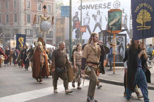 Празднование кельтского Нового Года - это крупнейший в Европе средневековый фестиваль, который стоит того, чтобы его увидеть
