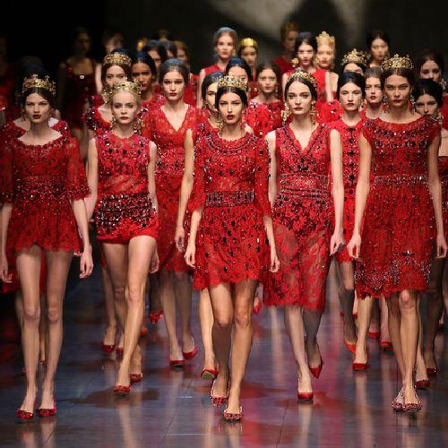 Презентация коллекции сезона весна-лето на ''Milan Fashion Week''