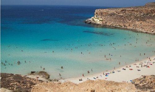 Самые южные острова Италии - Пелагские острова, находятся между островом Мальтой и Тунисом