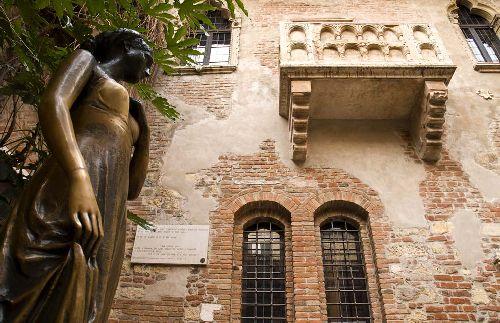 Дом Джульетты - одно из самых посещаемых мест в Вероне