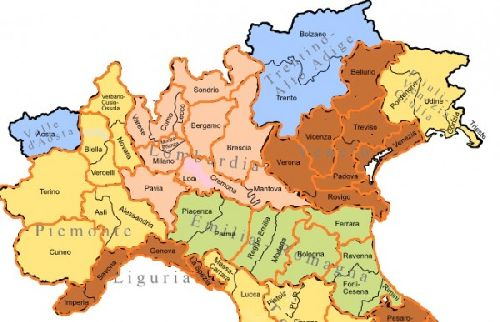 В нашей статье пойдет речь о городах северной Италии, расположенных между дугой альпийских гор и главной рекой Италии - По
