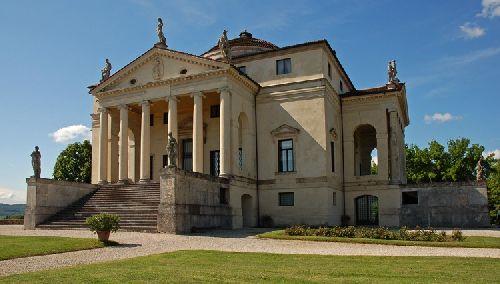 Вилла La Rotonda - преркасный образец загородной резиденции в итальянском искусстве