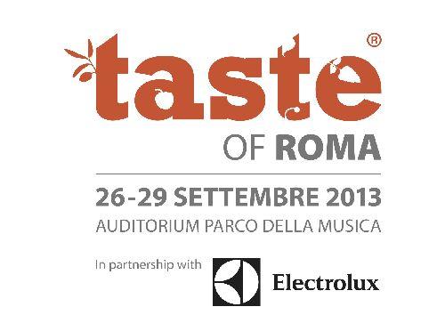 Афиша кулинарного фестиваля ''Taste of Roma''