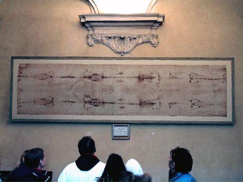 Туринская плащаница находится в соборе Святого Иоанна Крестителя в Турине