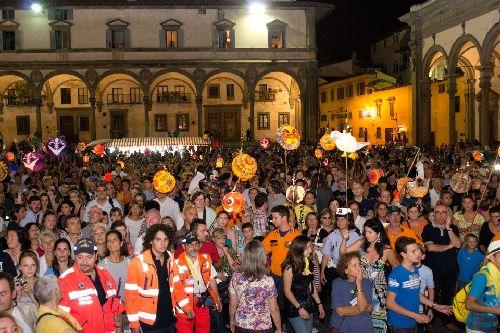 Празднование ''Festa Della Rificolona''