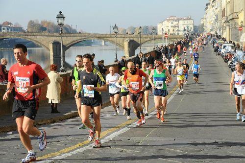 Ежегодный городской марафон ''Maratona di Firenze''