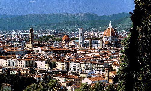 Сентябрь во Флоренции - это яркое солнце и сочная зелень