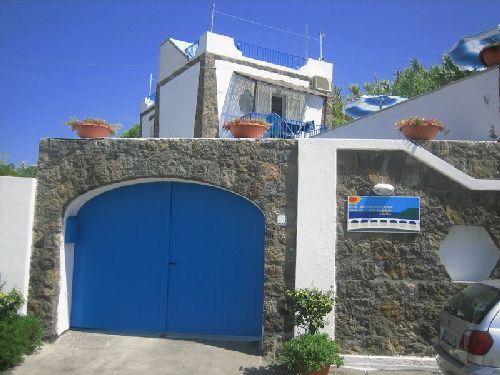 Вход в отель ''Residence La Rotonda Sul Mare''