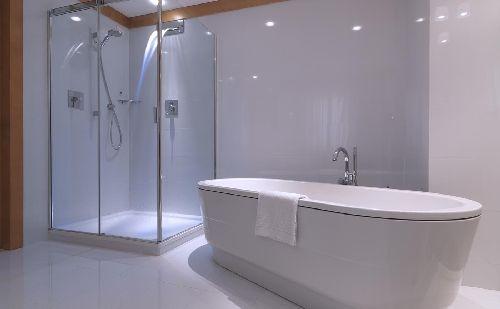 Ванная в стиле ''минимализм''