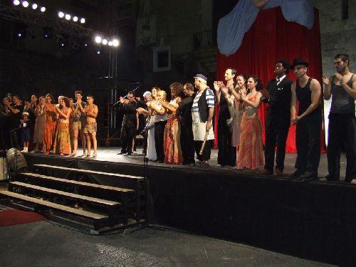 Финал песенного конкурса в Пьедигротте