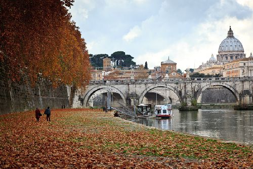 Ноябрь в Риме - пасмурный и дождливый месяц