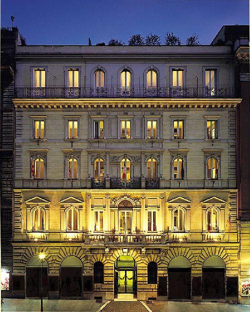 ''Hotel Artemide'' занимает собой старинный особняк
