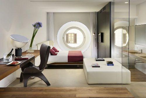 Все номера Palazzo Montemartini отличаются функциональным дизайном