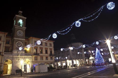В конце осени вы застанете в Римини активную подготовку к Рождеству