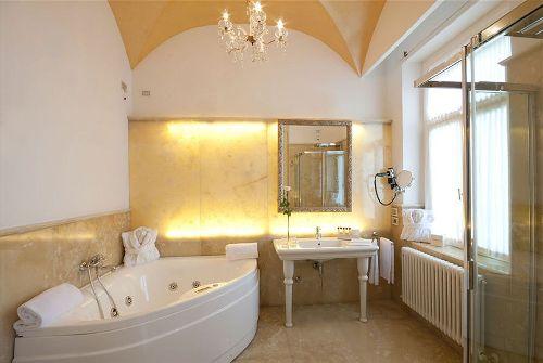 Все ванные комнаты характеризуются большой площадью