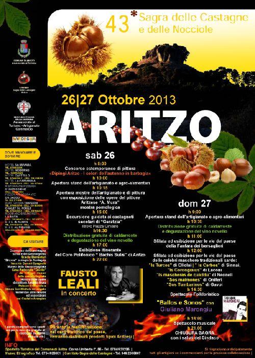 Программа фестиваля ''Sagra della Castagna''