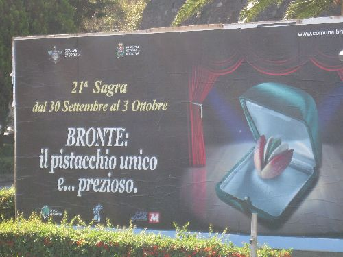 ''Sagra del pistacchio'' в Бронте - большое событие для истинных гурманов