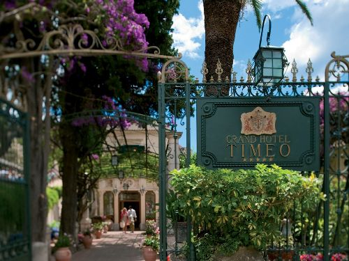 ''Grand Hotel Timeo'' создан для беспечного довольства жизнью