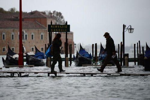 В ноябре Венеция находится во власти дождей