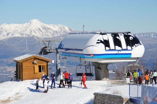 Кампо Феличе - один из самых известных горнолыжных курортов в Абруццо
