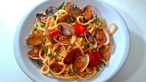 Паста с моллюсками - традиционное блюдо в Апулии