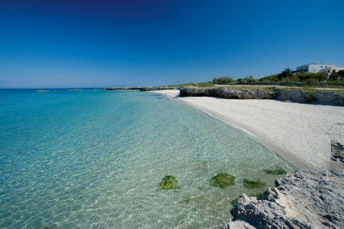 В Апулии чистое море и прекрасные пляжи