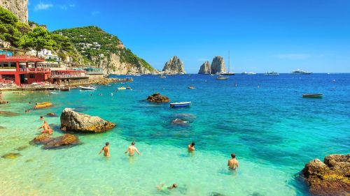 Остров Капри - необыкновенная природа и живописные побережья