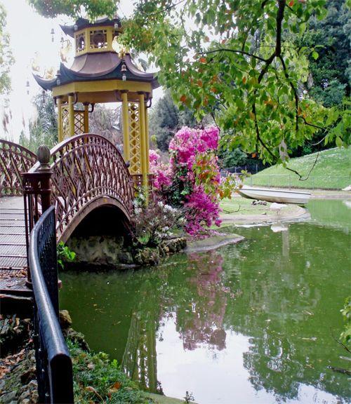 Прекрасное место для прогулок в Генуи вилла Дураццо-Паллавичини