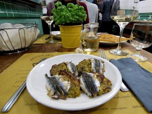 В Генуи обязательно отведайте морскую кухню