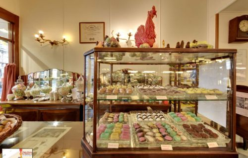 Магазин Pietro Romanengo в Генуи манит сластен