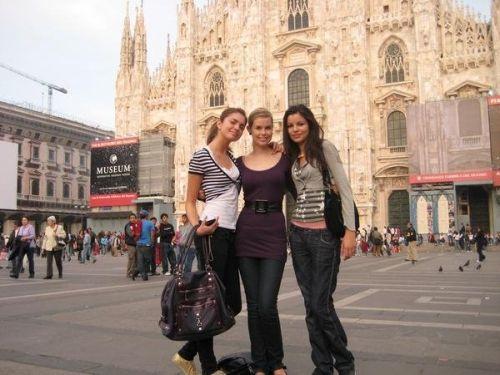 Милан находится на северо-западе страны в регионе Ломбардия