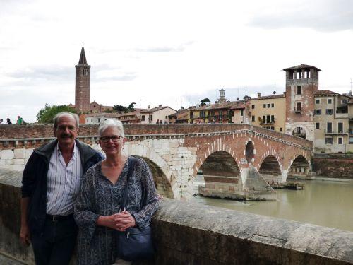 Город Верона расположилась в северной части Италии, совсем недалеко от Венеции