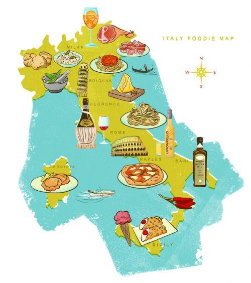 Каждая область Италии славится своей неповторимой кухней