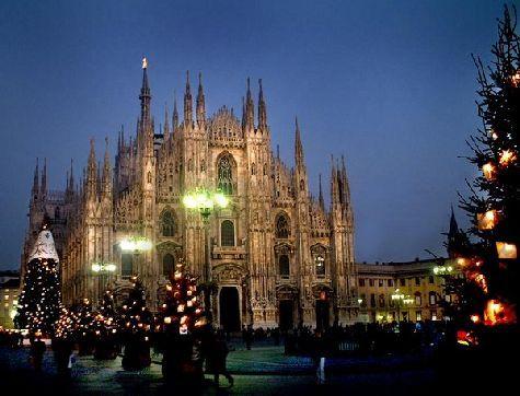 Так отмечают Новый год в Милане!