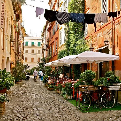 Рим - это не только достопримечательности с открытки, он способен удивить!