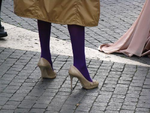 Откажитесь от высоких каблуков, иначе прогулки по Риму могут превратиться в кошмар