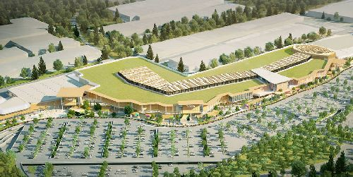 В середине весны в городе Арезе недалеко от Милана начал работу самый большой торговый центр в Италии Milano Arese