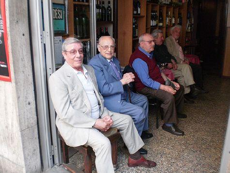 Местные жители Пьемонта крайне доброжелательны!