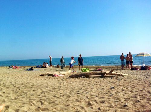 Остия Лидо - один из пляжей, расположенных недалеко от Рима