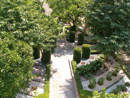 Еще одно интересное место в Салерно - Сад Минервы