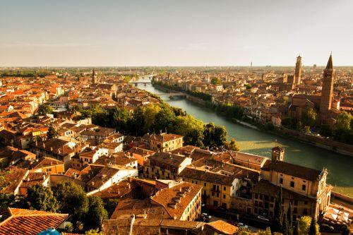 Верону называют одним из самых романтичных городов мира